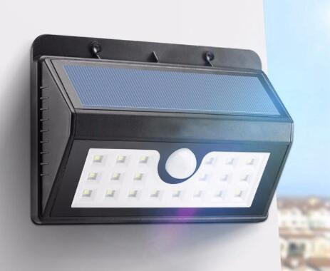 Dim 20 LED outside solar wall lights