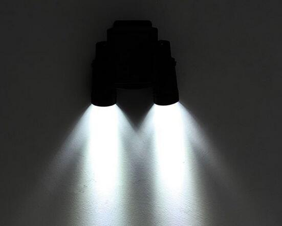 led solar spot lights outdoor at night