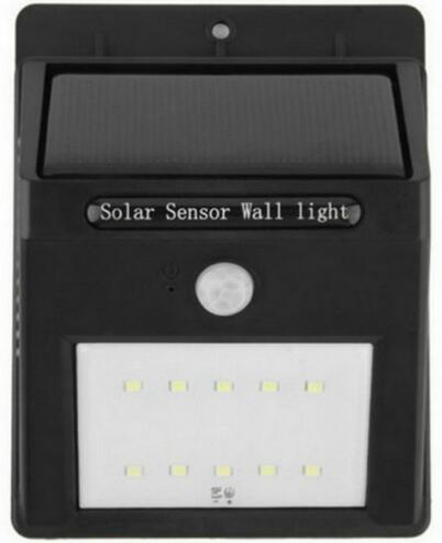 sound control+light control+dim light solar led motion sensor light