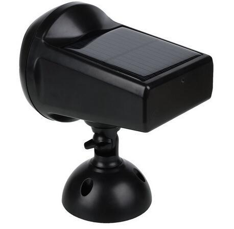 outdoor solar wall spotlight with motion detector