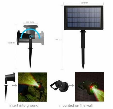 solar powered led landscape lights china manufacturer