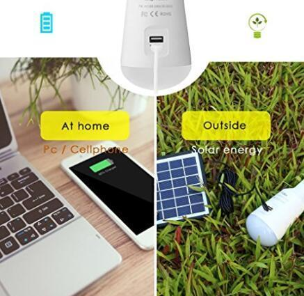 Portable solar powered led bulbs for sale