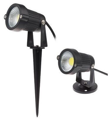 3 watt LED COB solar exterior spotlights for yard