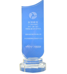 2012年度最具成长性新锐中小企业