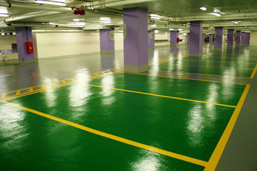 停车场地坪涂装系统