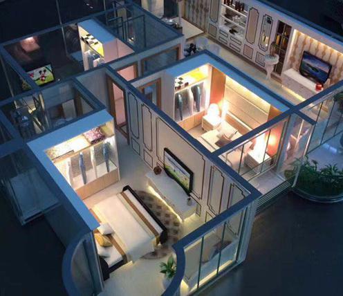 全自動智能家居展廳設計