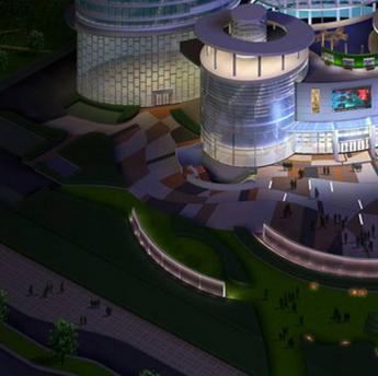 延安市展馆沙盘模型