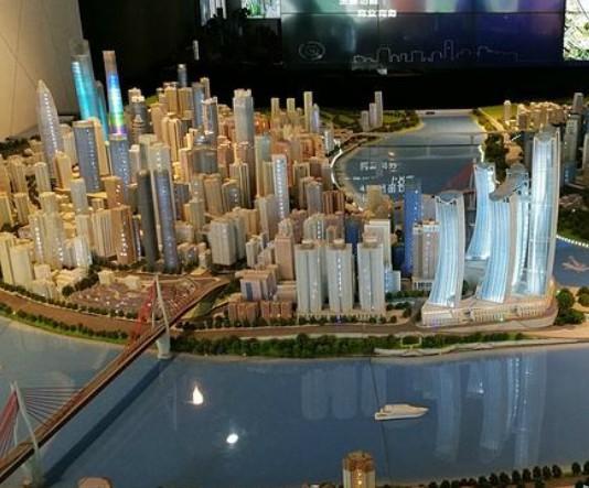 泉州市展览模型