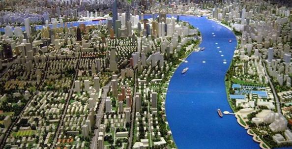 福清市智慧城市沙盘模型