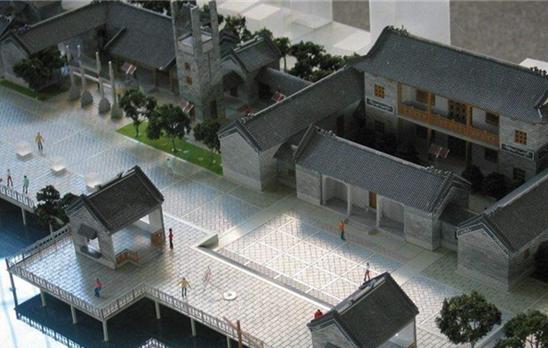 郑州市会展模型