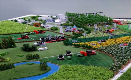 杭州市展厅沙盘模型