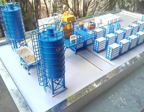 工业模型沙盘