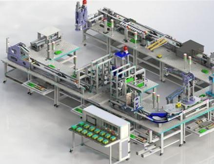 工业动态沙盘模型