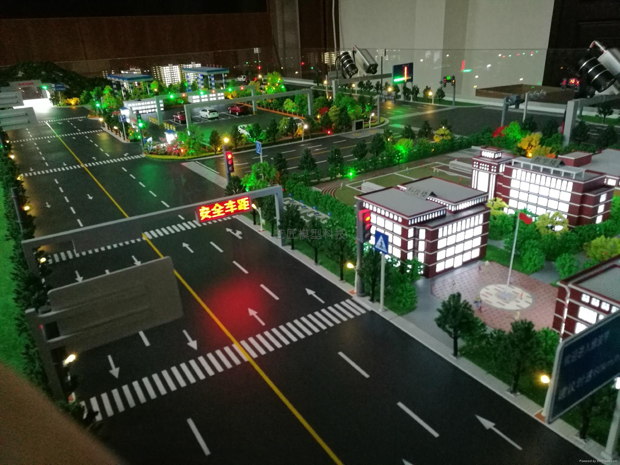 交通沙盘制作