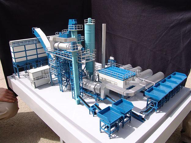 工业建筑模型制作