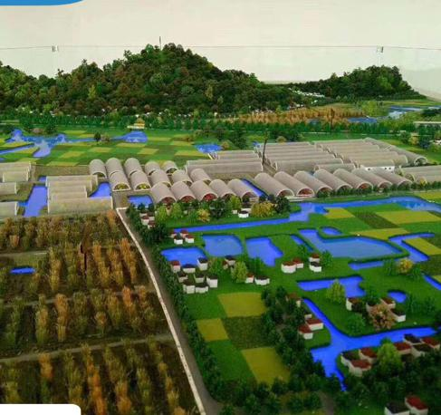 城市規劃沙盤模型