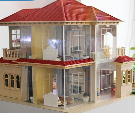 景观別墅模型