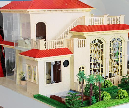 別墅建築模型