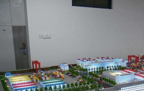 物流沙盘模型制作