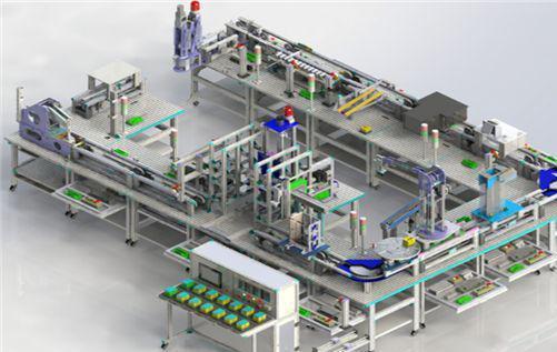 智能工厂模型