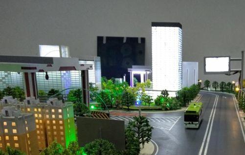 智能交通模型