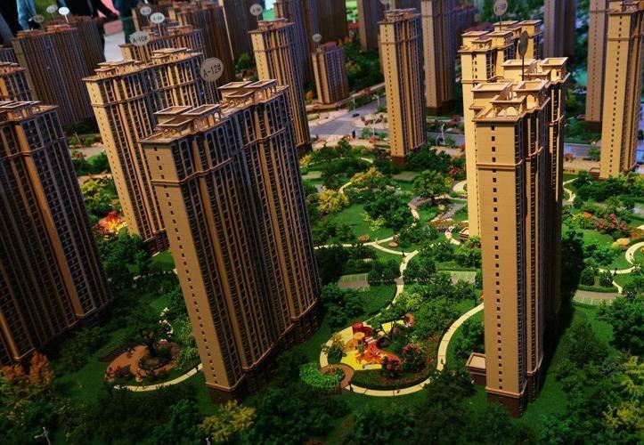 小区景观园林模型
