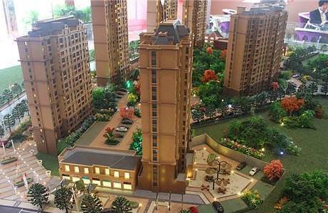 公園景觀模型