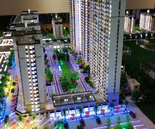智慧城市规划沙盘设计