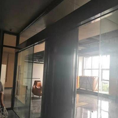 新都桂湖名城门禁自动门案例