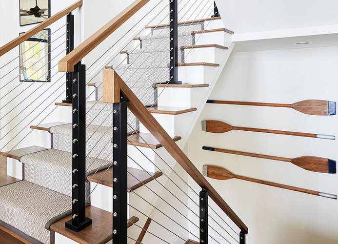 楼梯地毯:如何选择那里最好的一个