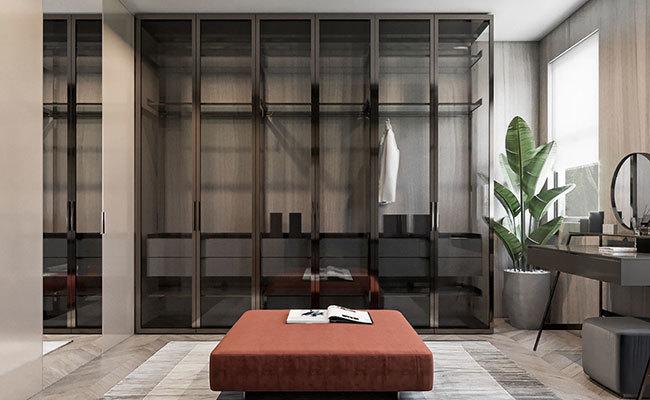 现代室内装修效果图-更衣室