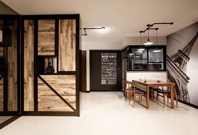 风格迥异的空间-混搭风格装修案例