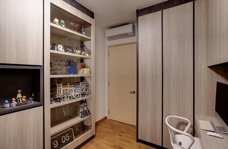 简约个性化空间-现代简约风格装修案例