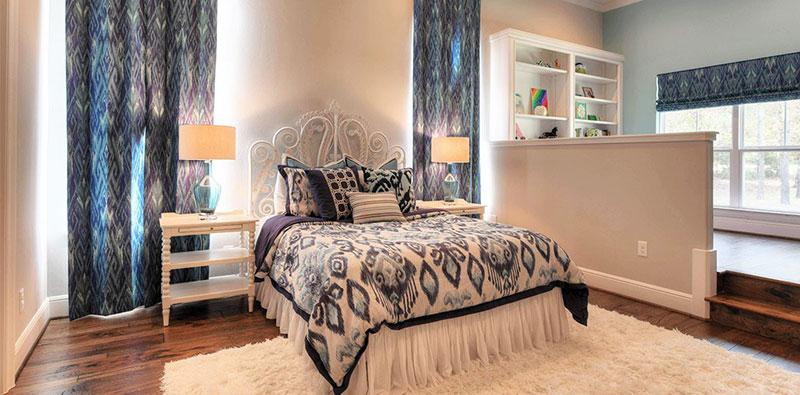 舒适梦幻女孩的卧室