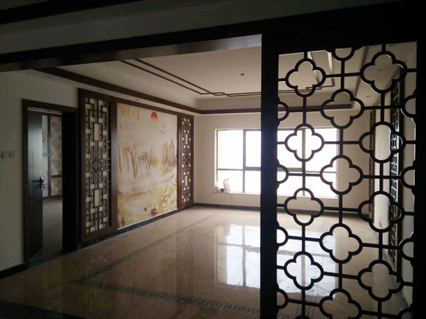 俊峰龙凤云洲旧房改造翻新装修在建工程