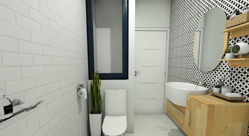一室一厅混搭风格装修效果图——开放式厨房
