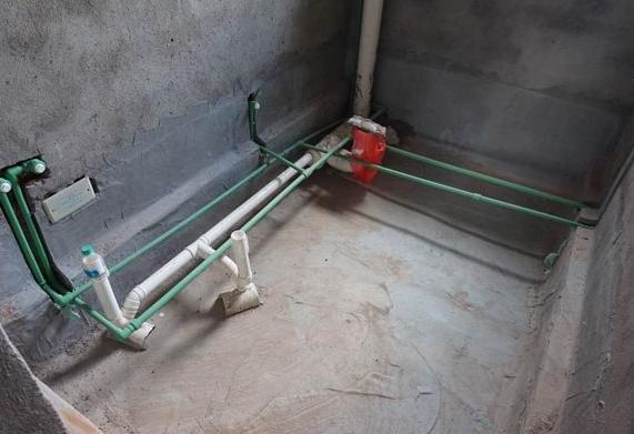 家装中伟星冷热水管的安装