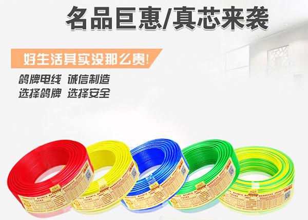 重庆家装建材——鸽牌电线及价格