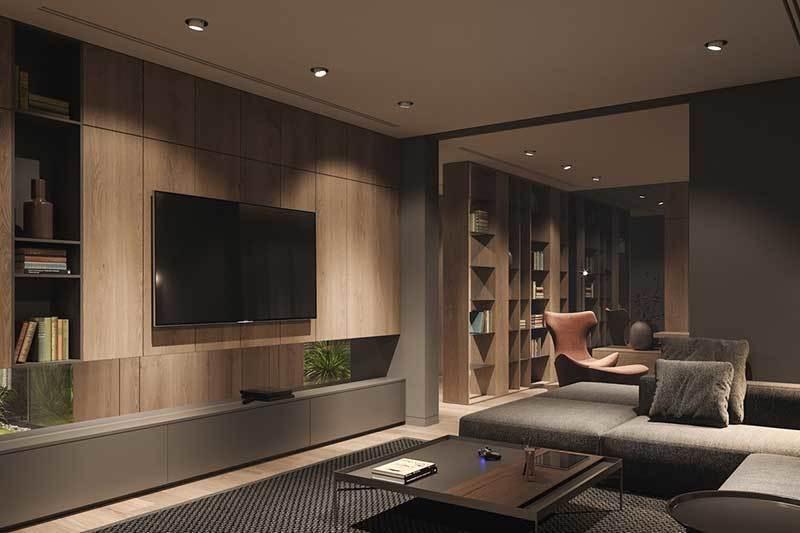 320平米超大现代风格家居装修设计案例效果图2