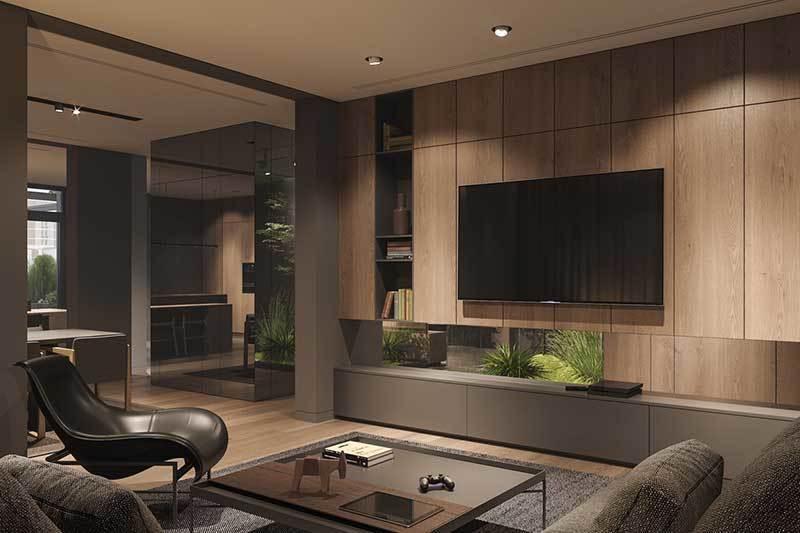 320平米超大现代风格家居装修设计案例效果图3
