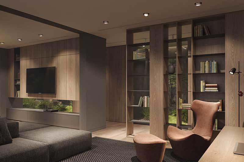 320平米超大现代风格家居装修设计案例效果图4