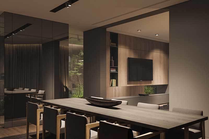 320平米超大现代风格家居装修设计案例效果图6