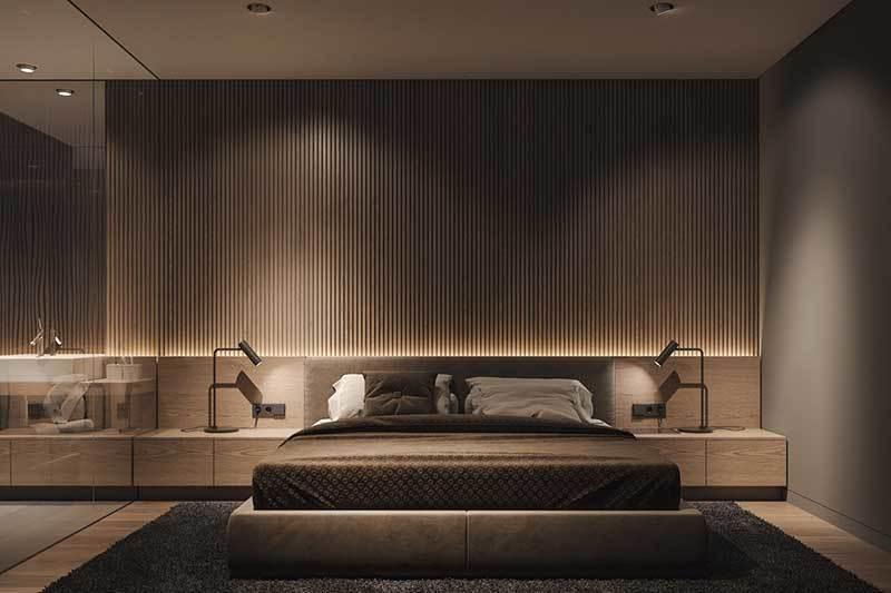 320平米超大现代风格家居装修设计案例效果图10