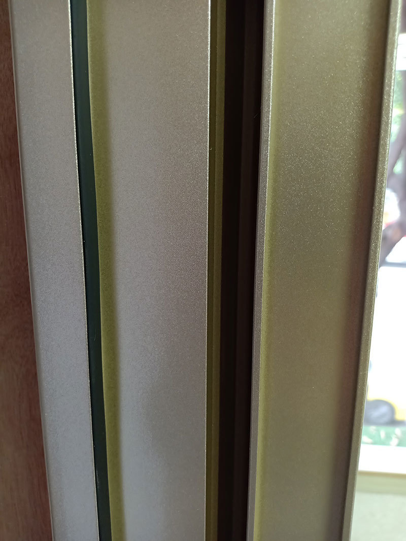 美图门窗侧面材质特写