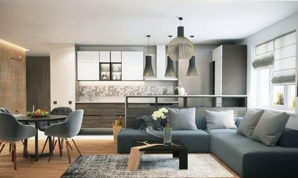 优雅的家居装饰,带有微妙,时尚的口音
