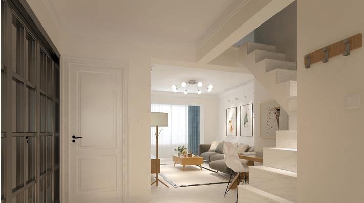 重庆家装公司案例_160平米现代简约风格装修效果图21.