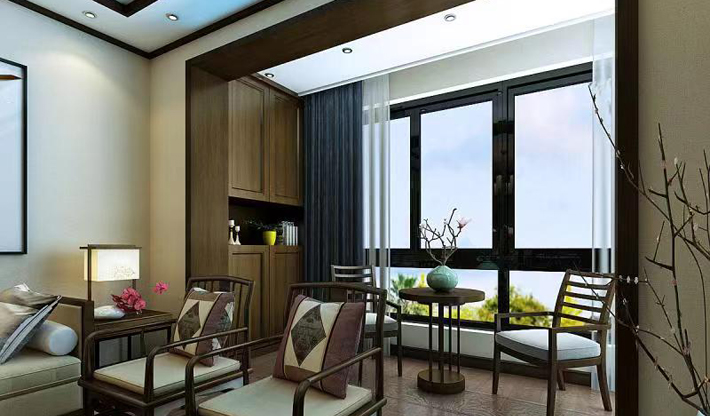 重庆装饰公司案例_同心家园中式风格装修效果图31.