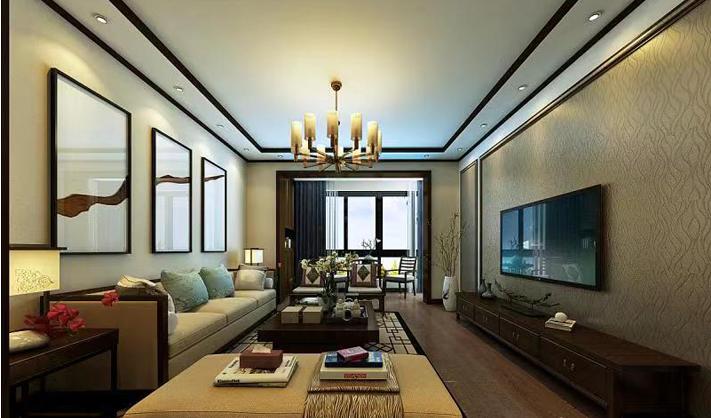 重庆装饰公司案例_同心家园中式风格装修效果图60.