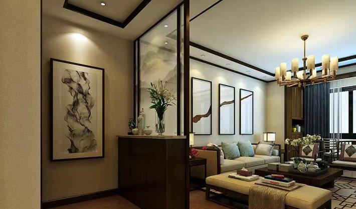 重庆装饰公司案例_同心家园中式风格装修效果图229.