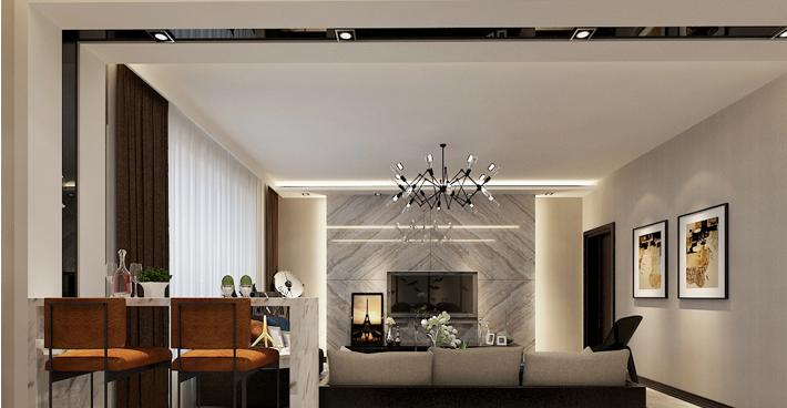 重庆装饰公司案例_148平米新中式风格装修效果图66.